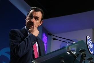 Fernando Martínez Maillo en la Sede del PP. Madrid, 2017. © Ana Cian.