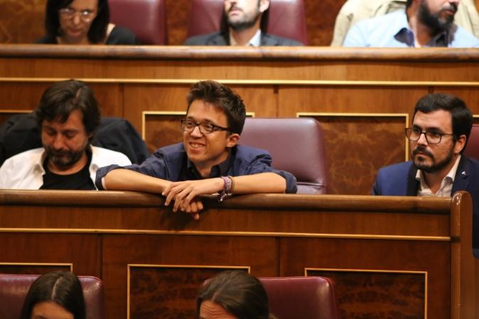 Íñigo Errejón en el Congreso de los Diputados. Madrid, 2017. © Ana Cian.