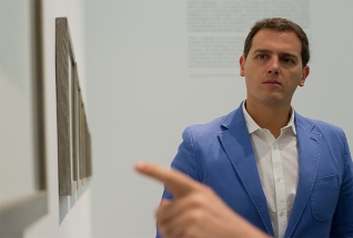 Albert Rivera en la inauguración de la Exposición de Picasso en el Museo Reina Sofia. Madrid, 2017. © Ana Cian.