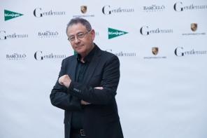 Roberto Verino en los premios Gentleman. Madrid, 2017. © Ana Cian.