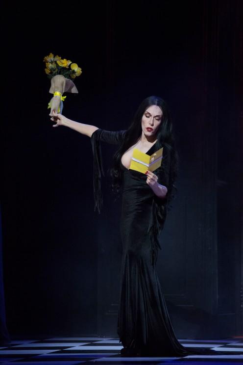 "Pase gráfico ""La Familia Addams"". Madrid, 2017. © Ana Cian."